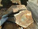 SouthScape Rock and Stone Sample Gallery: Pine Log Flag